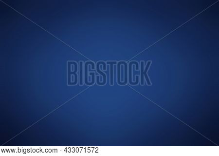 Blue Gradient Background For Backdrop Design For Product Or Text Over