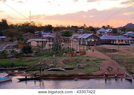Sunrise On Lake Victoria