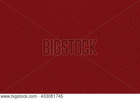Natural Burgundy Red Dark Rustic Fine Grain Leather Texture Pattern, Hoizontal Grunge Rough Detailed