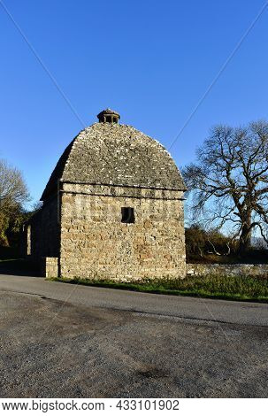 Penmon Priory, Beaumaris, Anglesey, Wales Beautiful Old Dovecote In The Secluded Grounds Of The Hist