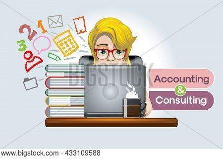 Online And Other Online Accounting Consulting For Small And Large Enterprises, Business Management A