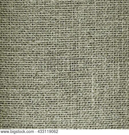 Realistic Vector Seamless Texture Of Burlap, Canvas