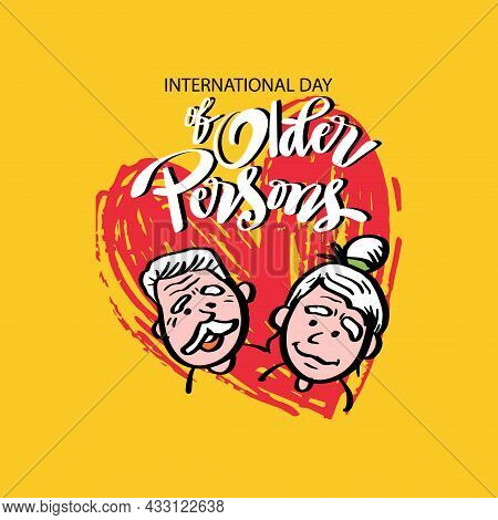 International Day Of The Older Persons With Grandparents