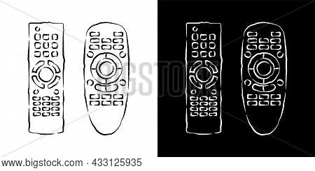 Two Hand Remote Control. Multimedia Panel With Shift Buttons. Program Device. Wireless Console. Sket