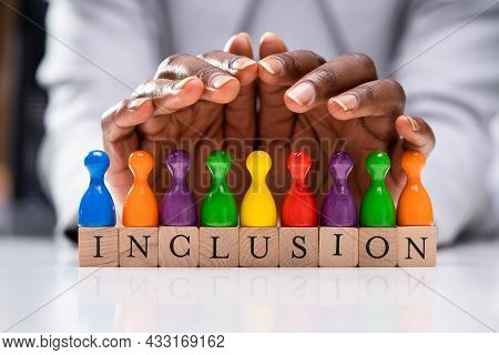 Inclusive Diversity Lgbt Colors. Diversity And Inclusion Insurance