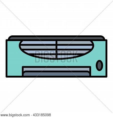 Retro Conditioner Icon. Outline Retro Conditioner Vector Icon Color Flat Isolated On White
