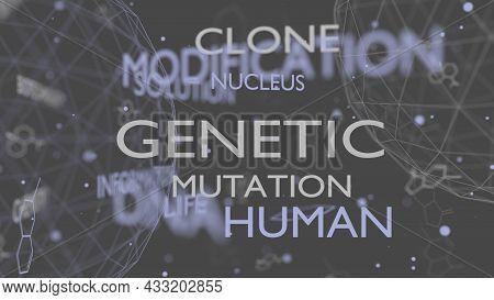 Genome Editing, Regulating And Targeting Words Cloud