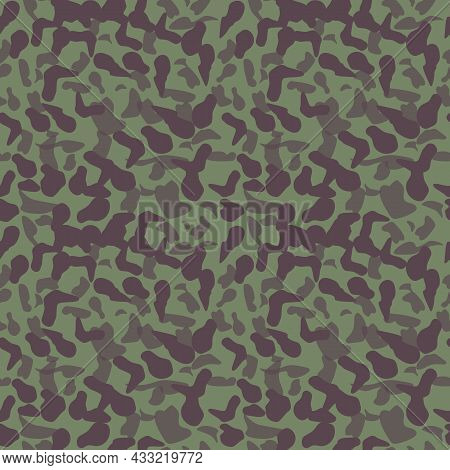 Abstract Military Seamless Pattern