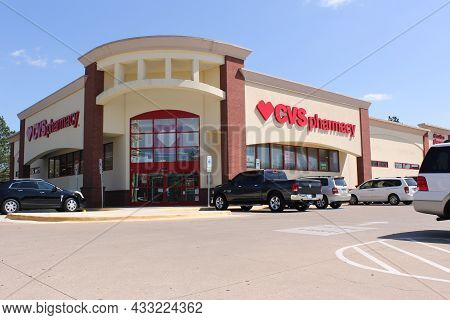 Tyler, Tx - March 26, 2019: Cvs Pharmacy Located On Broadway Ave In Tyler Tx
