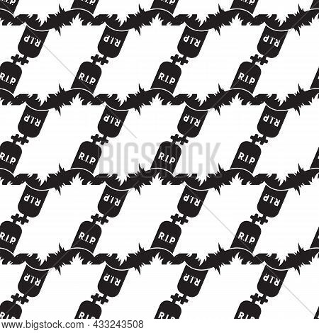 Rip Grave Pattern Seamless Background Texture Repeat Wallpaper Geometric Vector