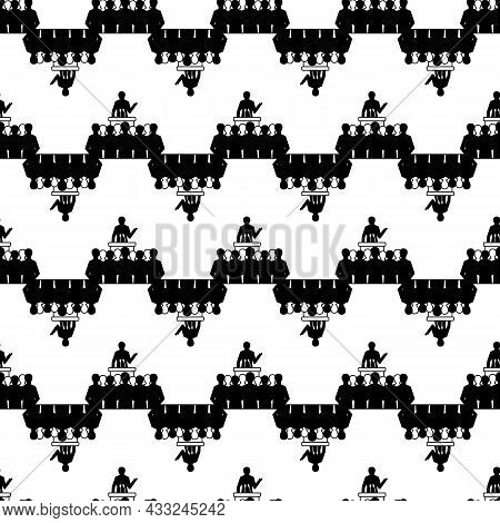 Political Speaker Pattern Seamless Background Texture Repeat Wallpaper Geometric Vector