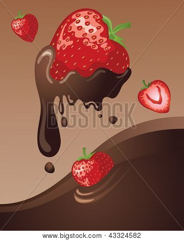 Chocolate Strawberry