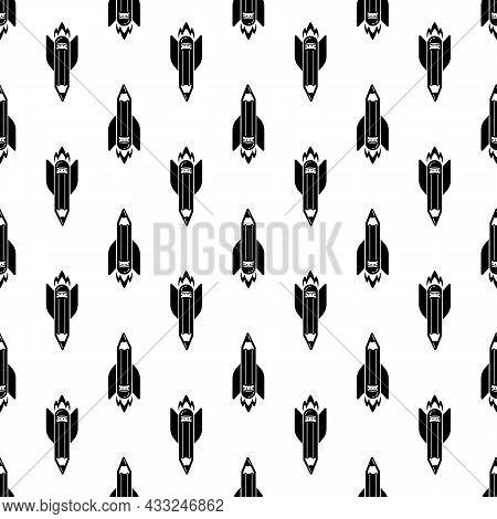 Start Up Pen Rocket Pattern Seamless Background Texture Repeat Wallpaper Geometric Vector