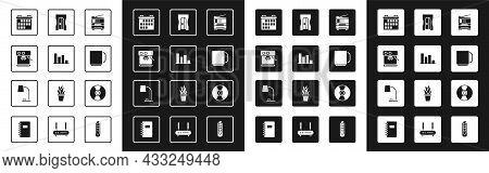 Set Printer, Pie Chart Infographic, Coffee Machine, Calendar, Cup, Pencil Sharpener, Cd Or Dvd Disk