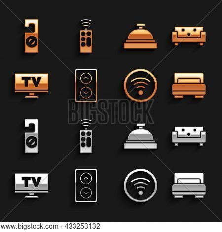 Set Lift, Sofa, Hotel Room Bed, Wi-fi Wireless, Smart Tv, Service Bell, Please Do Not Disturb And Re