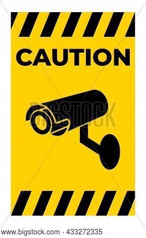Symbol Icon Video Surveillance Icon.cctv Camera Sign
