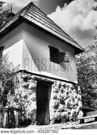 Trsic, Serbia - Septembar 05, 2021 House Of Vuk Stefanovic Karadzic In Trsic, Serbia, Serbian Philol