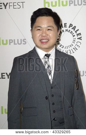 BEVERLY HILLS - MARCH 14: Matthew Moy arrives at the 2013 Paleyfest