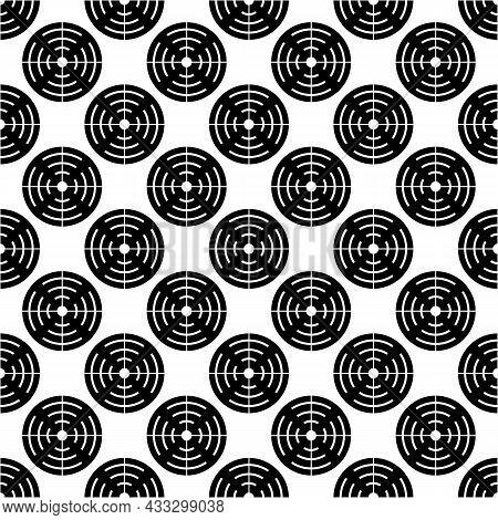 Shotgun Target Pattern Seamless Background Texture Repeat Wallpaper Geometric Vector
