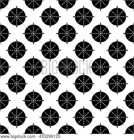 Periscope Aim Pattern Seamless Background Texture Repeat Wallpaper Geometric Vector