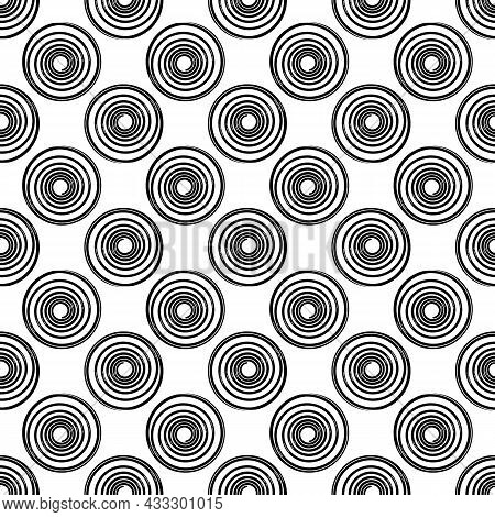 Shock Spring Pattern Seamless Background Texture Repeat Wallpaper Geometric Vector