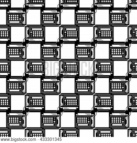 Fax Prints Pattern Seamless Background Texture Repeat Wallpaper Geometric Vector
