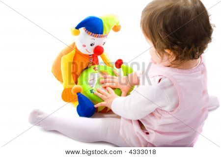 Baby Playing Cutout
