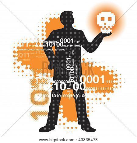 Modern Hamlet in cyberspace