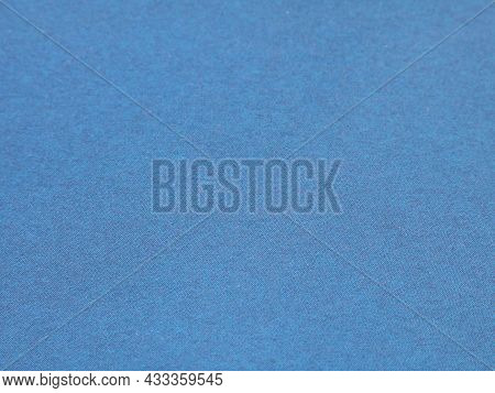 Pale Blue Background With Fine Grained Texture, Light Blue Backdrop Of Paper Or Cardboard With Copy
