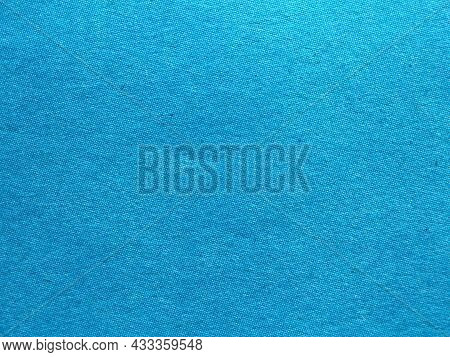 Blue Tone Of Rough Paper As Blank Texture Space For Design, Bright Clean Sky Blue Texture With Space