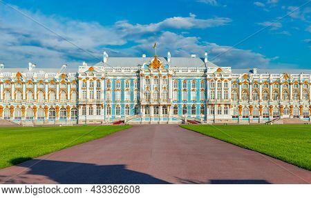 Catherine Palace In Tsarskoe Selo (pushkin), Saint Petersburg, Russia