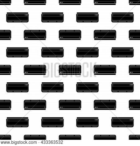 Air Conditioning Inside Pattern Seamless Background Texture Repeat Wallpaper Geometric Vector