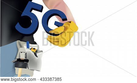 Skilled Worker Installation Internet 5g Skilled Worker Installation Internet 5g