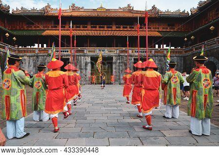 The Royal Guards Parade Marching