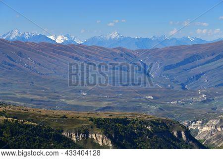 Caucasus. Chechen Scenery. Chechnya,  Russia