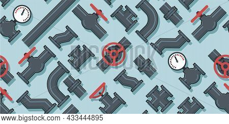Pipe Fittings, Taps, Bends And Fittings. Spare Parts For Pipelines, Sewerage, Gas Lines And Any Liqu