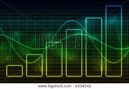 Finance Spreadsheet Chart Data