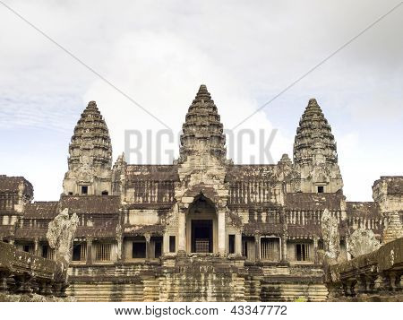 Angkor Wat View From East
