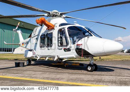 Leonardo Agustawestland Aw169 Rescue Helicopter At Nordholz Navy Base. Germany - June 14, 2019