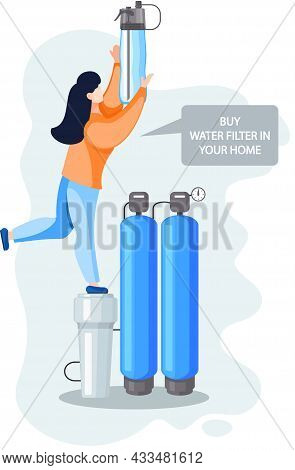 Buy Kitchen Water Filter For Cleaning Tap Water From Mechanical, Insoluble Particles, Impurities, Ch
