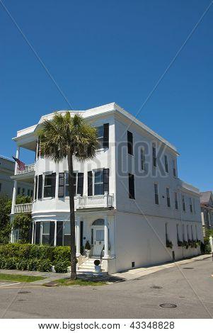Charleston viktorianska enda hus