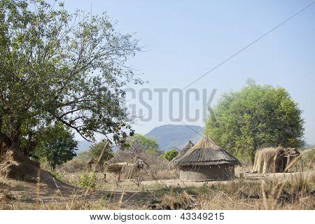 remote village in south sudan