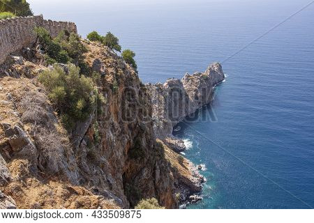 Beautiful View Of The Coastline Of Alanya