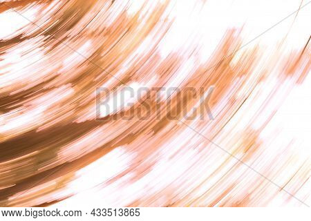Abstract Image With Orange Fragments For Autumn Abstract Orange Background Of Autumn Card Or To Crea