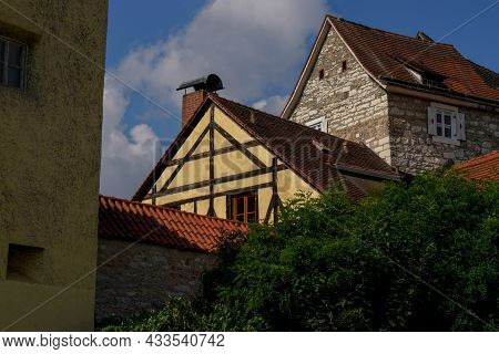 Berching, Bacham Is A Bavarian Town In The Neumarkt District In The Upper Palatinate. Photographed I
