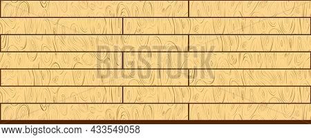 Abstract Fibers Structure Background. Wooden Texture Template. Veneer Surface. Plywood Pattern Vecto