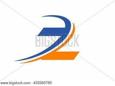Z Letter Business Logo Template. Initial Z Logo Design For Real Estate, Financial, Marketing, Manage