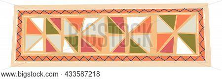 Ornamental Mat, Rug Or Carpet For Home Interior