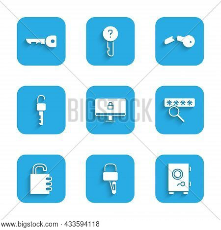 Set Lock On Computer Monitor, Picks For Lock Picking, Safe, Password Protection, Combination, Unlock