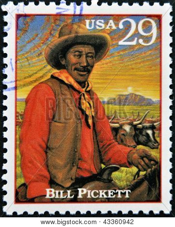 Bill Pickett prominent Native American leader and medicine man of the Chiricahua Apache